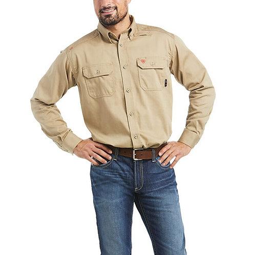 CVEC Ariat FR Solid Work Shirt
