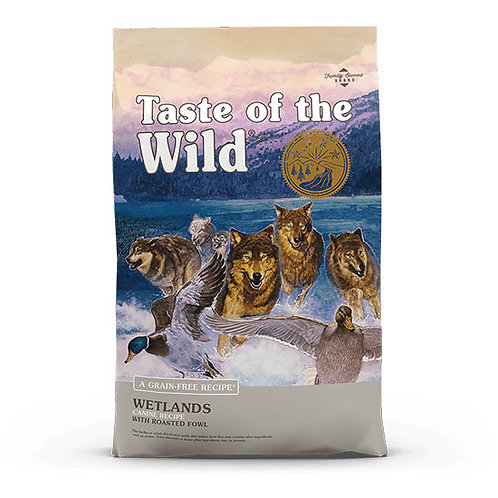 Taste of the Wild Wetlands Canine - 5 lb bag