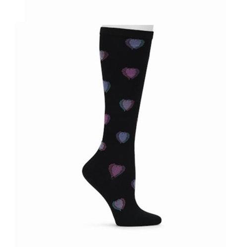 Nurse Mates Heart Fusion Compression Socks