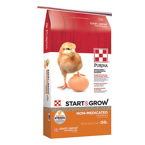Purina Start and Grow Non-Medicated - 50 lb. bag