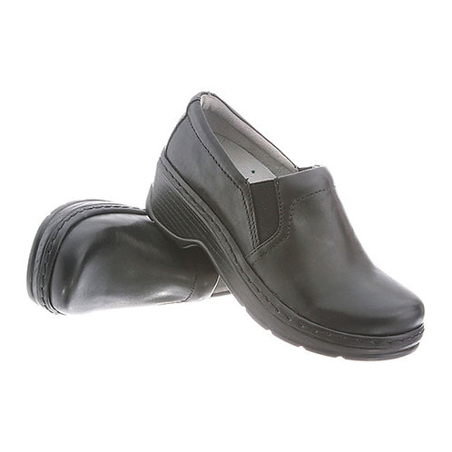 Klogs Footwear Naples Black Smooth Clog