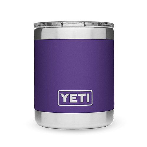 Yeti Rambler 10 oz Lowball with Standard Lid - Purple