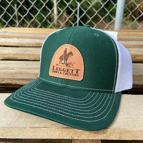 Richardson 112 Leggett Town and Country Dark Green Cap