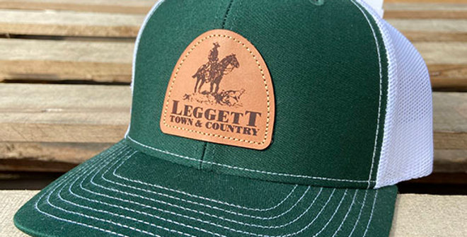 Richardson 112 Leggett Town and Country Dark Green Cap