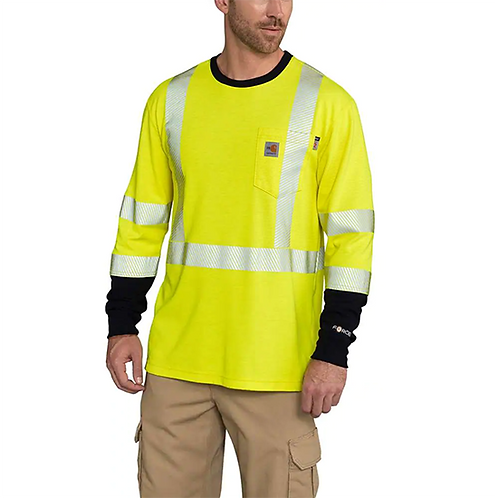 RWEC Carhartt Force Men's FR High-Vis Long-Sleeve
