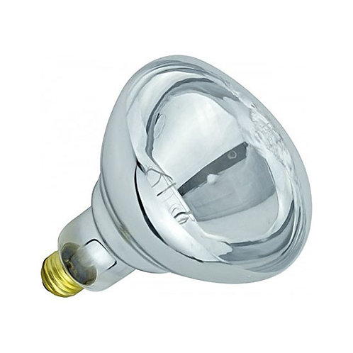 Satco BR40 Infrared Reflector 250W Clear Bulb