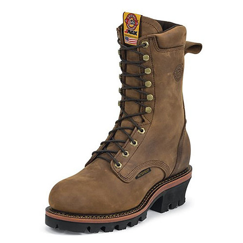 Justin Men's Casement Aged Bark Steel Toe