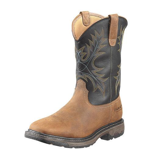 Ariat Men's WorkHog Wide Square Toe Steel Toe Boot