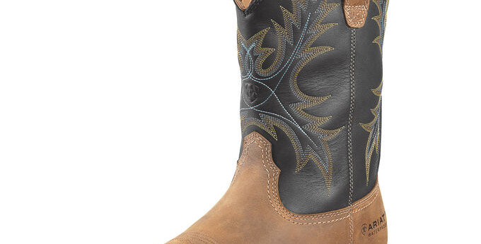 Ariat Men's WorkHog Wide Square Toe Steel Toe Boot