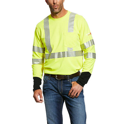 Ariat Men's FR Hi-Vis Crew T-Shirt