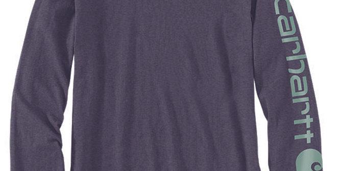 Carhartt Women's Long-Sleeve Logo T-Shirt