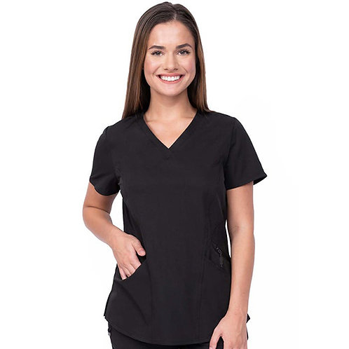 Ava Therese Knit Scrub Top