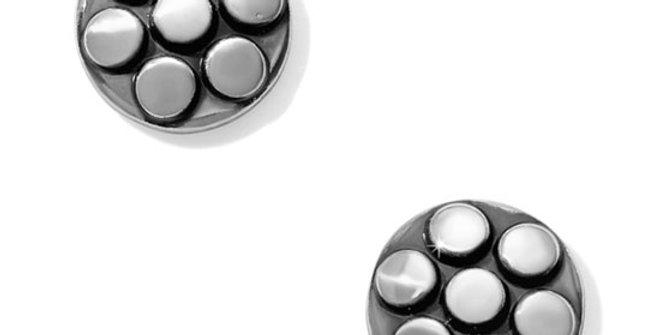 Brighton Pebble Mix Dot Post Earrings
