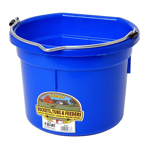 Little Giant Duraflex 8-Quart Flat Back Bucket