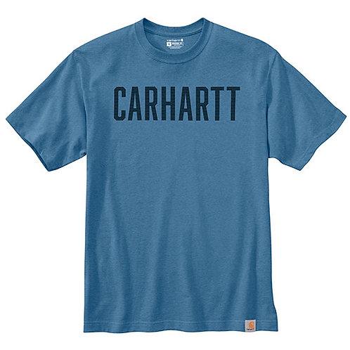 Carhartt Men's Heavyweight Block Logo T-Shirt