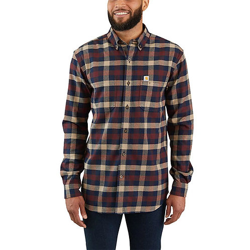 Carhartt Men's Rugged Flex Hamilton Flannel Shirt