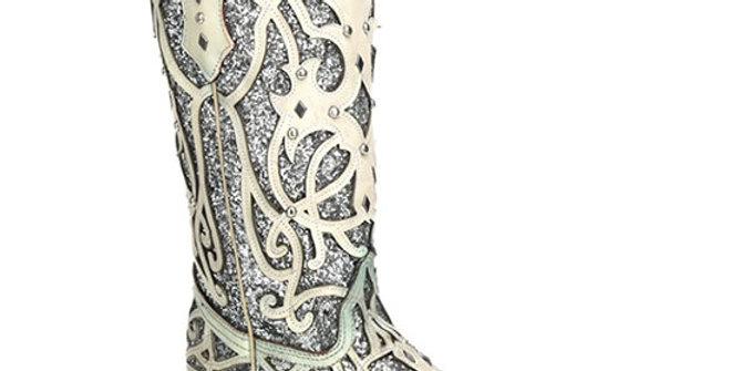 Corral Women's Sparkle Cowboy Boot