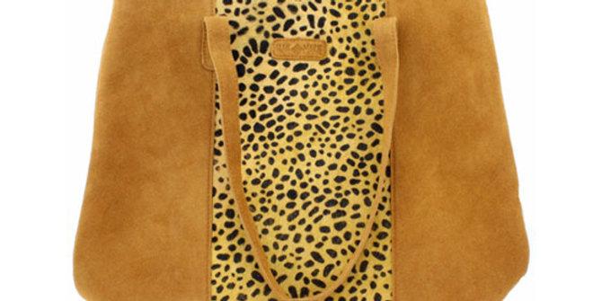 Jane Marie Phoenix Cheetah Tote