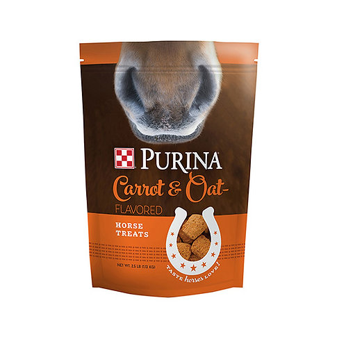 Purina Carrot and Oat-Flavored Horse Treats