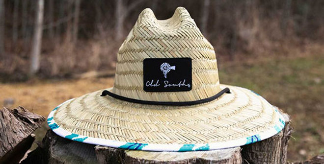 Old South Dixie Straw Hat