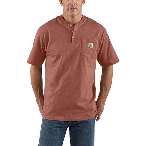 Carhartt Men's Loose Fit Short-Sleeve Henley