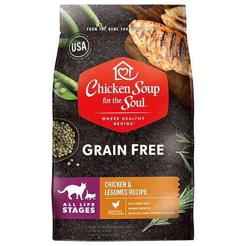 Chicken Soup Grain Free Chicken and Legumes Cat - 4 lb. bag