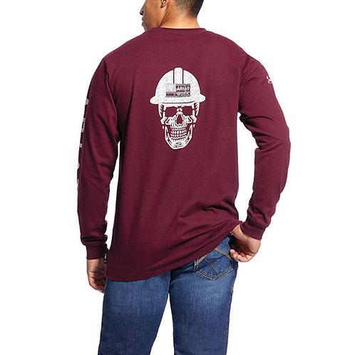 RWEC Ariat Men's FR Roughneck Skull Logo T-Shirt