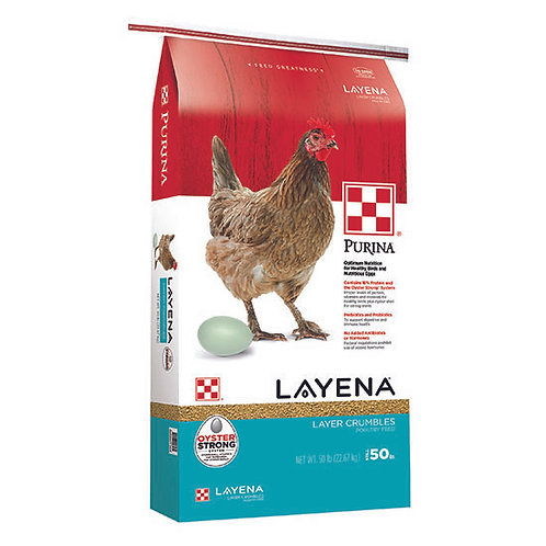 Purina Layena Crumbles - 50 lb. bag