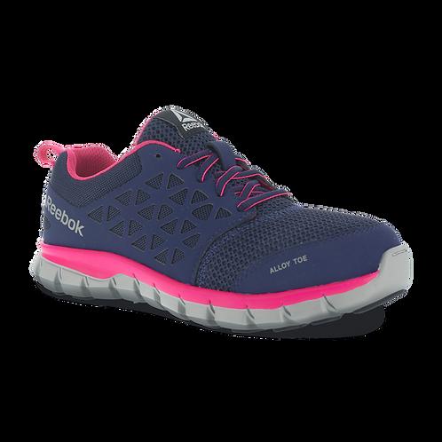Reebok Women's Sublite Cushion Pink Work Shoe