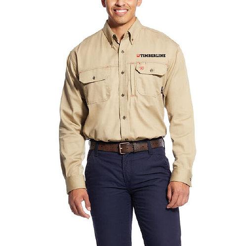 FBT Ariat FR Solid Vent Work Shirt