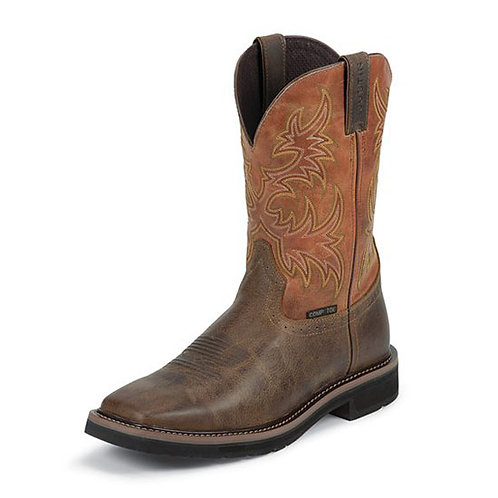 Justin Switch America Composite Toe Boot