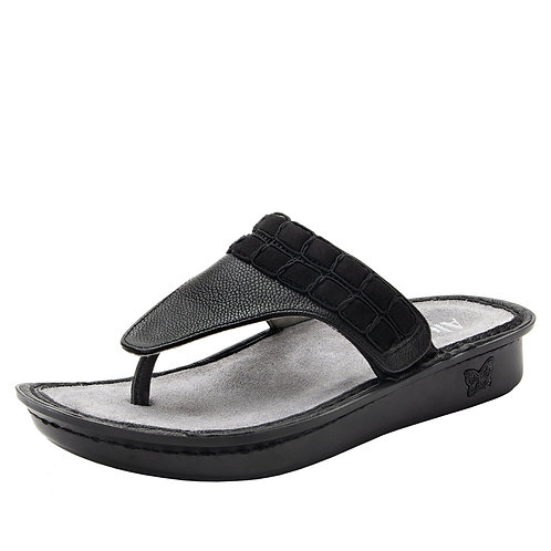 Alegria Vanessa Upgrade Black Sandal
