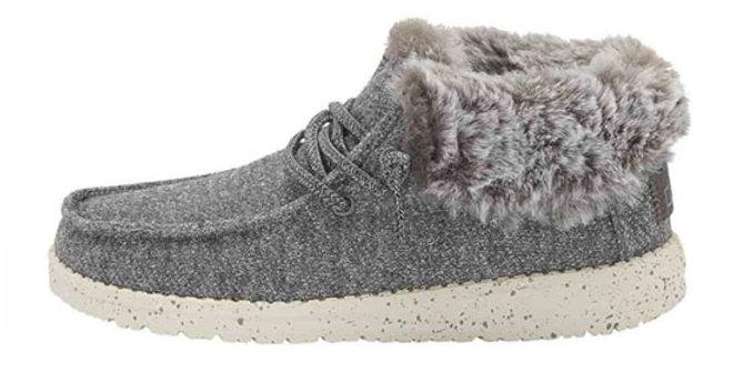 HeyDude Shoes Britt Youth Stretch Fleece