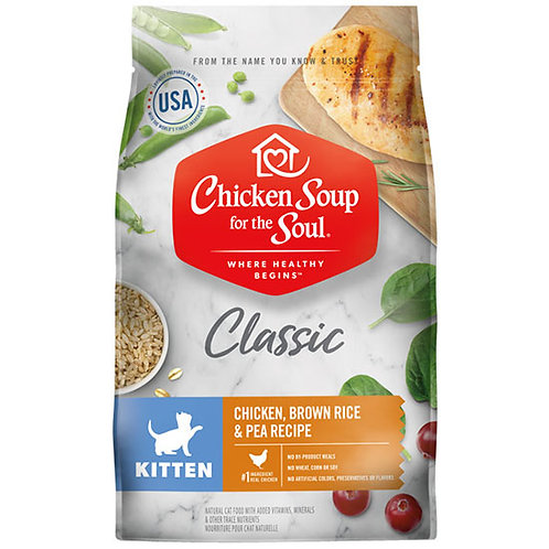Chicken Soup Classic Kitten - 13.5 lb. bag