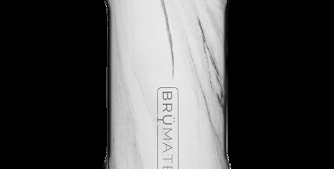 Brumate Hopsulator Slim Carrara 12-oz