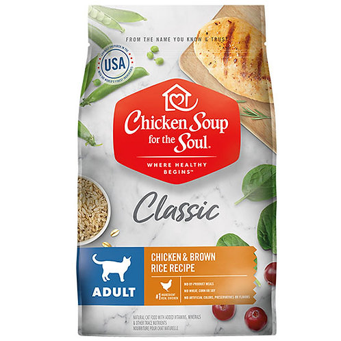 Chicken Soup Classic Adult Cat - 4.5 lb. bag