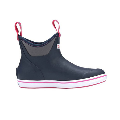 XtraTuf Women's Salmon Sisters Ankle Deck Boot - Navy