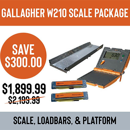 Gallagher W210 Scale Package