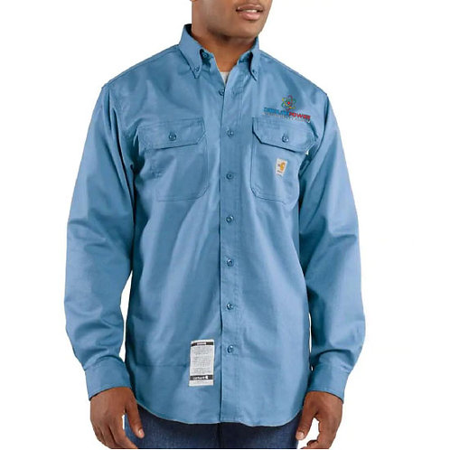 Carhartt Flame-Resistant Twill Shirt with Pocket Flap CP