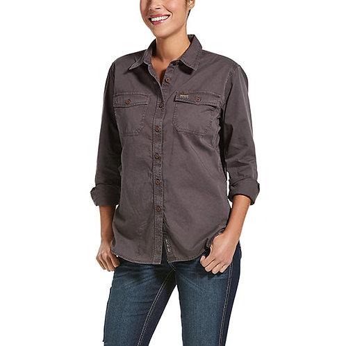 Ariat Rebar Women's Washed Twill Work Shirt