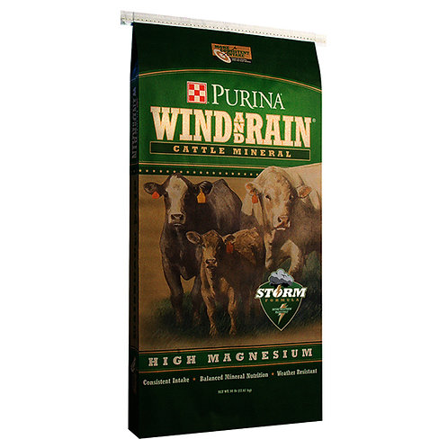 Purina Wind and Rain High Magnesium - 50 lb. bag