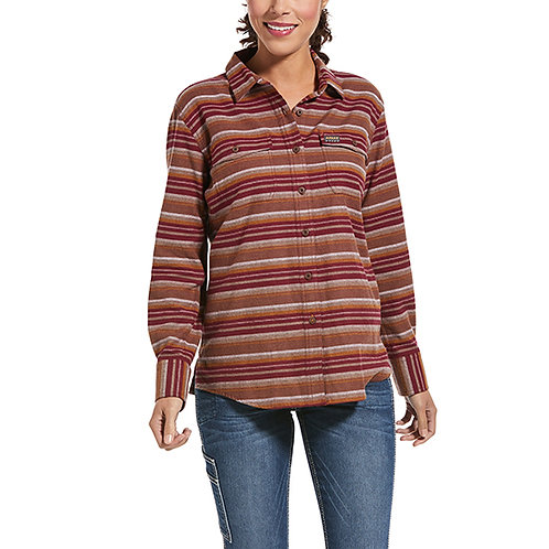Ariat Rebar Women's Flannel DuraStretch Work Shirt