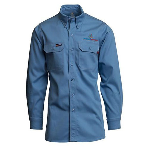 Lapco Flame-Resistant Lightweight Twill Shirt CP