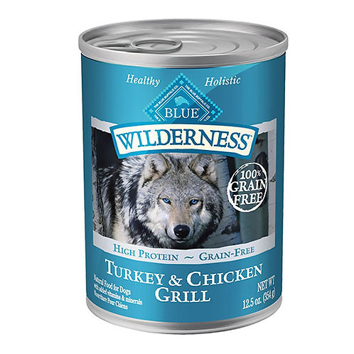 Blue Buffalo Wilderness - Turkey and Chicken Grill