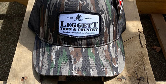 Richardson 112 Leggett Town and Country Sign Cap - Camo