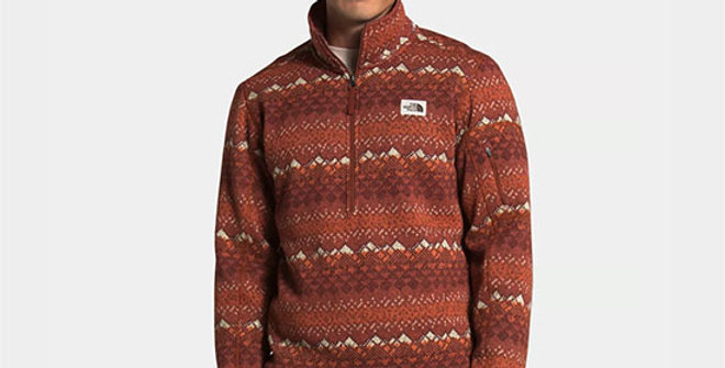 The North Face Men's Gordon Lyons Novelty Pullover