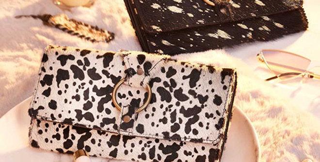 Myra Bag Cheery Dalmation Print Wallet