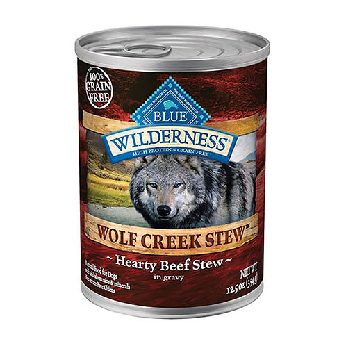 Blue Buffalo Wilderness -Wolf Creek Stew with Hearty Beef
