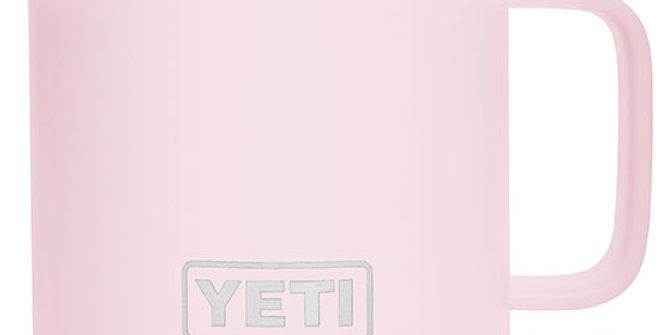 Yeti Rambler 14 oz Mug with Standard Lid - Ice Pink