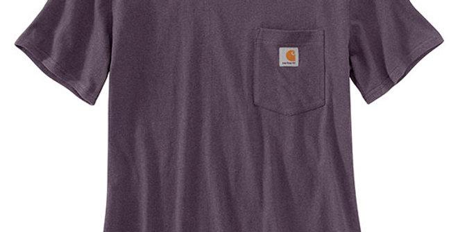 Carhartt Women's K87 Short-Sleeve Pocket Tee - Nocturnal Haze
